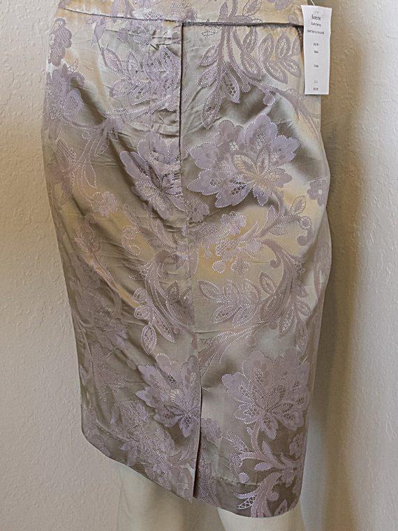 "270606a5d ""Suzette"" Satin Print Pencil Skirt"